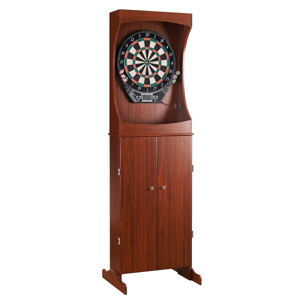 Hathaway Outlaw Free Standing Dartboard and Cabinet