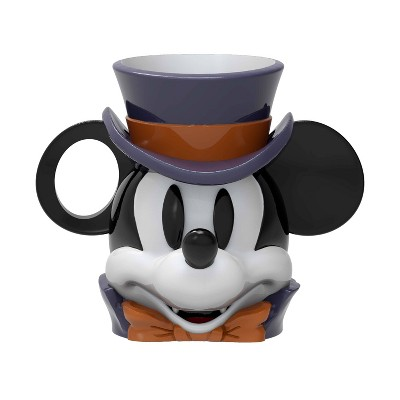 Zak Designs Disney Mickey Mouse 11oz Halloween Ceramic Sculpted Mug