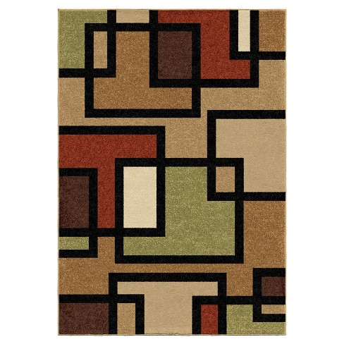 Orian Rugs Blended Blocks Napa Transitional Area Rug - image 1 of 5