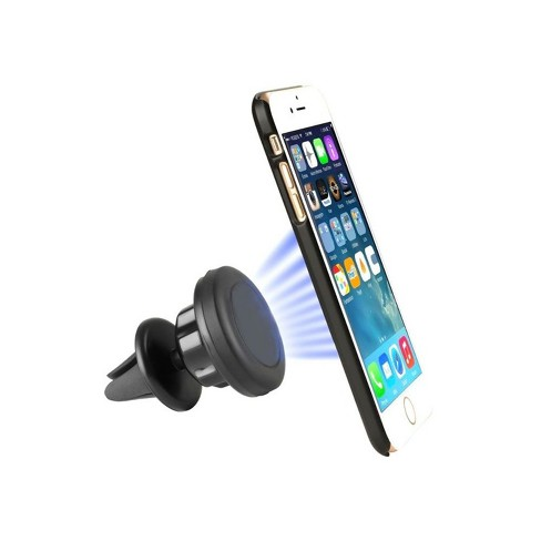 Valor Universal 360 degree Rotation Magnetic Air Vent Car Mount Holder For Cell Phone iPhone - Black - image 1 of 1