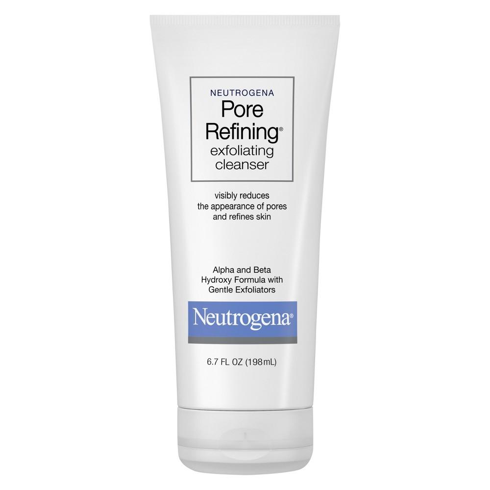 Neutrogena Pore Refining Exfoliating Cleanser Face Wash - 6.7 fl oz