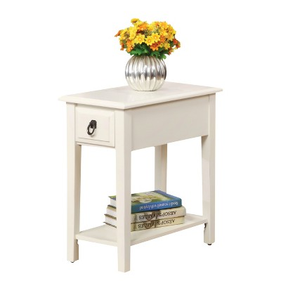 End Table White - Acme Furniture