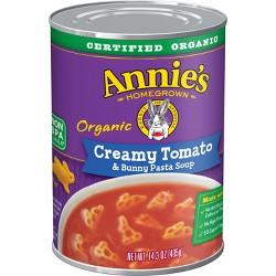 Annie's Organic Creamy Tomato Soup with Bunny Pasta - 14.3oz
