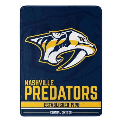 NHL Nashville Predators Micro Throw Blanket