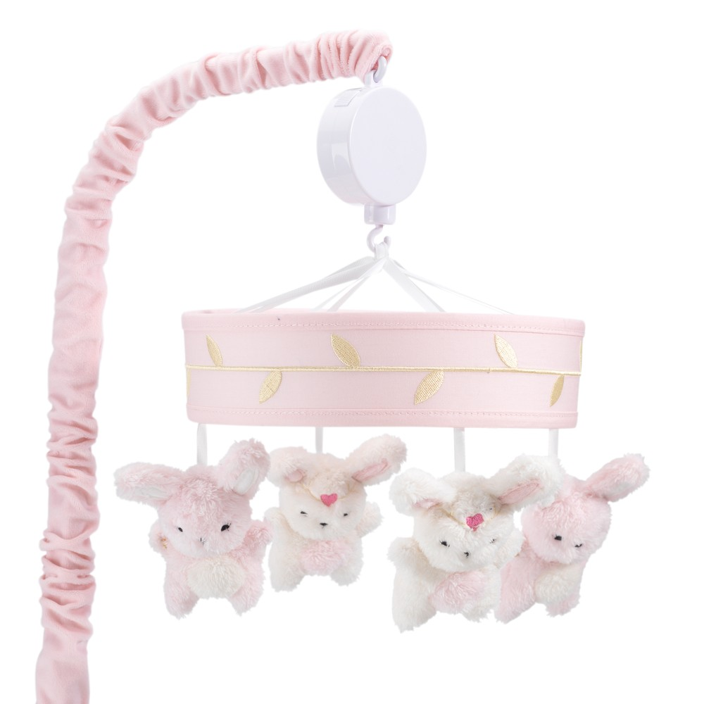 Lambs & Ivy Confetti Musical Mobile - Pink