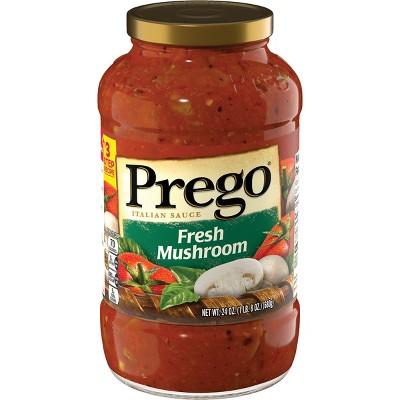 Prego Fresh Mushroom Italian Sauce 24oz