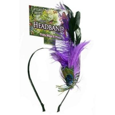 Forum Novelties Spring Fairy Peacock Feather Headband Costume Accessory