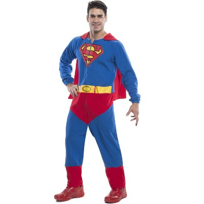 DC Comics Superman Jumpsuit Adult Costume