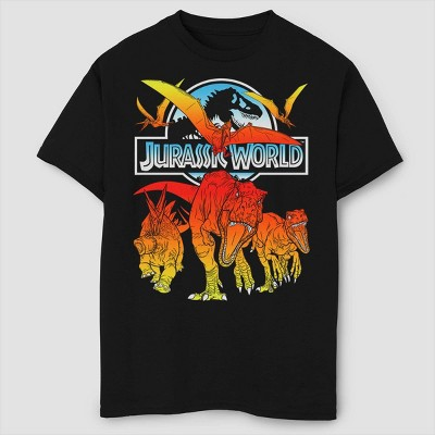 Boys' Jurassic World Fallen Kingdom Hot Shots T-Shirt - Black