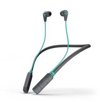 Skullcandy Inkd Wireless Earbuds - Gray/Mint