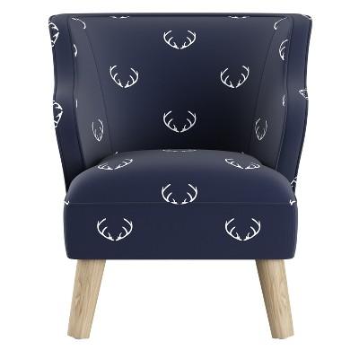 Kids Modern Chair Patterned   Skyline Furniture