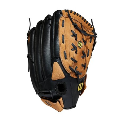 "Wilson Softball Glove Slowpitch A360 Brown/Black 14"""