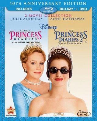 Princess Diaries/Princess Diaries 2: Royal Engagement (Blu-ray/DVD)