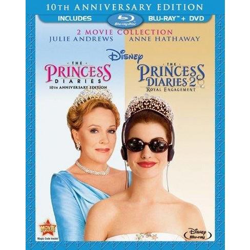 Princess Diaries/Princess Diaries 2: Royal Engagement (2 Discs) (Blu-ray/DVD) (Widescreen) - image 1 of 1
