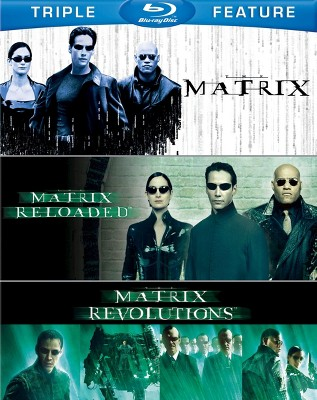 The Matrix Triple Feature (Matrix/Matrix Reloaded/Matrix Revolutions) (Blu-ray)