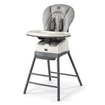 Chicco Stack 3-in-1 High Chairs - Gray