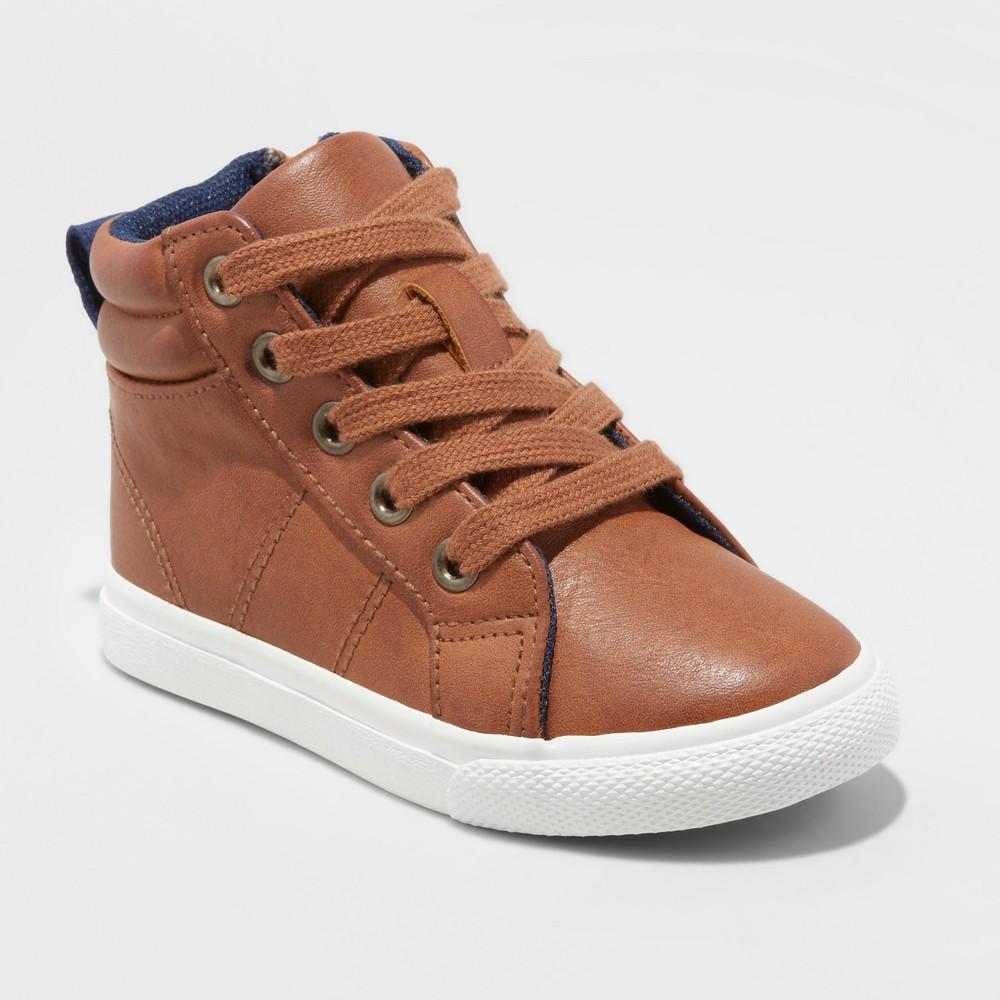 Toddler Boys Cayden Casual Sneakers Cat Jack 8482 Brown 10