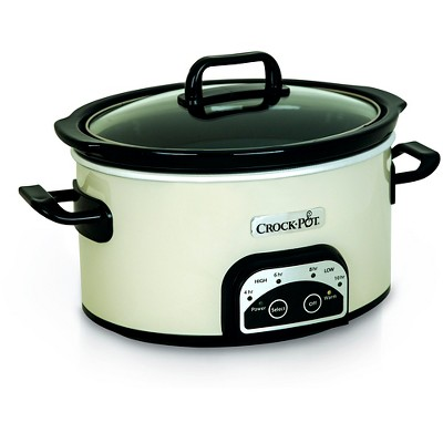 Crock-Pot Smart-Pot 4qt Digital Slow Cooker - Eggshell SCCPVP400-PY