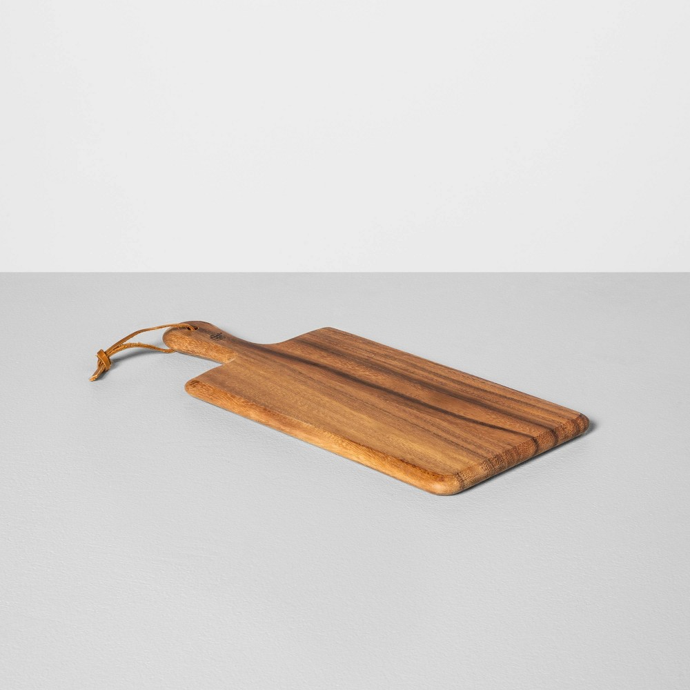 "Image of ""13""""x6"""" Acacia Cutting Board - Hearth & Hand with Magnolia, Brown"""
