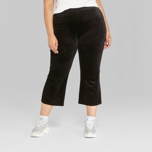 de894accf92f2 Women s Plus Size Kick Flare Borrowed Pants - Wild...   Target