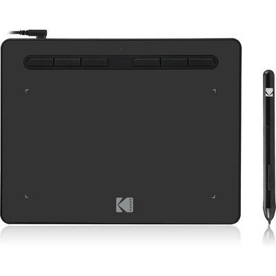 "Kodak CyberTablet HD Graphic Tablet F8 - Graphics Tablet - 8"" x 5"" - 5080 lpi - 8192 Pressure Level - Pen - Mac, PC - Black"