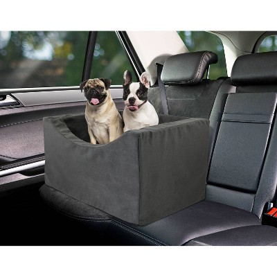 Precious Tails High Density Foam Double Dog Car Booster