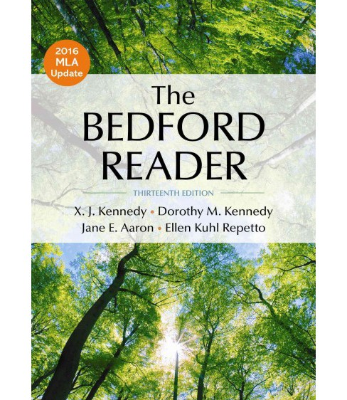 Bedford Reader (Paperback) (X. J. Kennedy & Dorothy M. Kennedy & Jane E. Aaron & Ellen Kuhl Repetto) - image 1 of 1