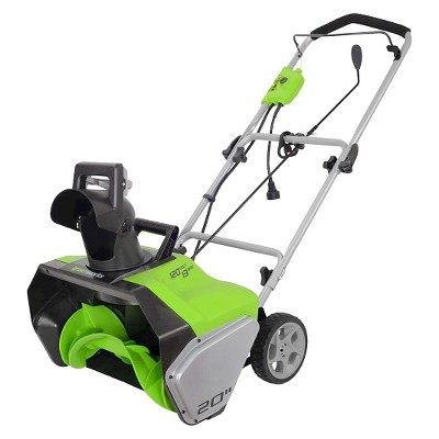 Greenworks GWSN20130 13a 20  Corded Snow Thower