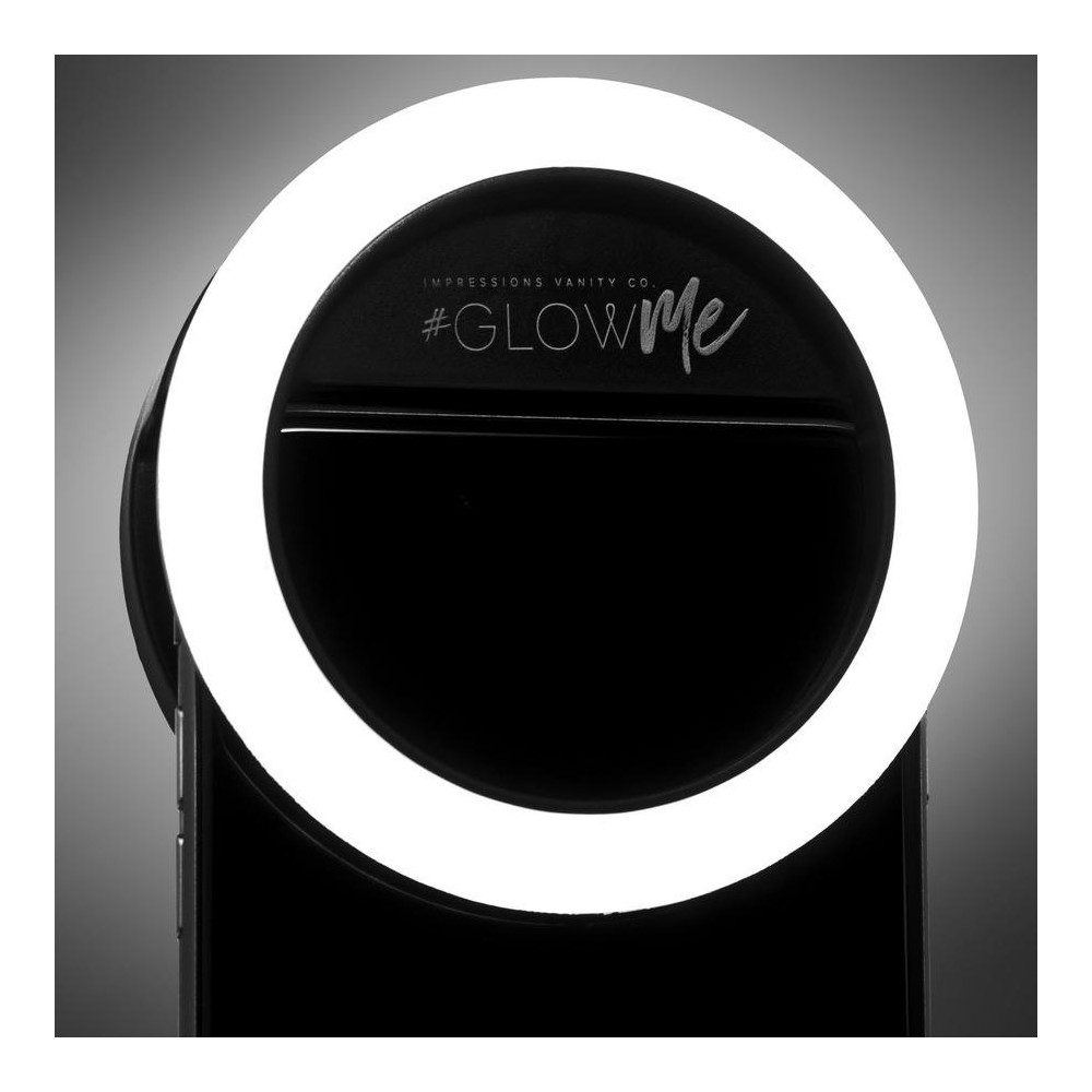 Image of Impressions Vanity GlowMe 2.0 LED Selfie Ring Light - Black