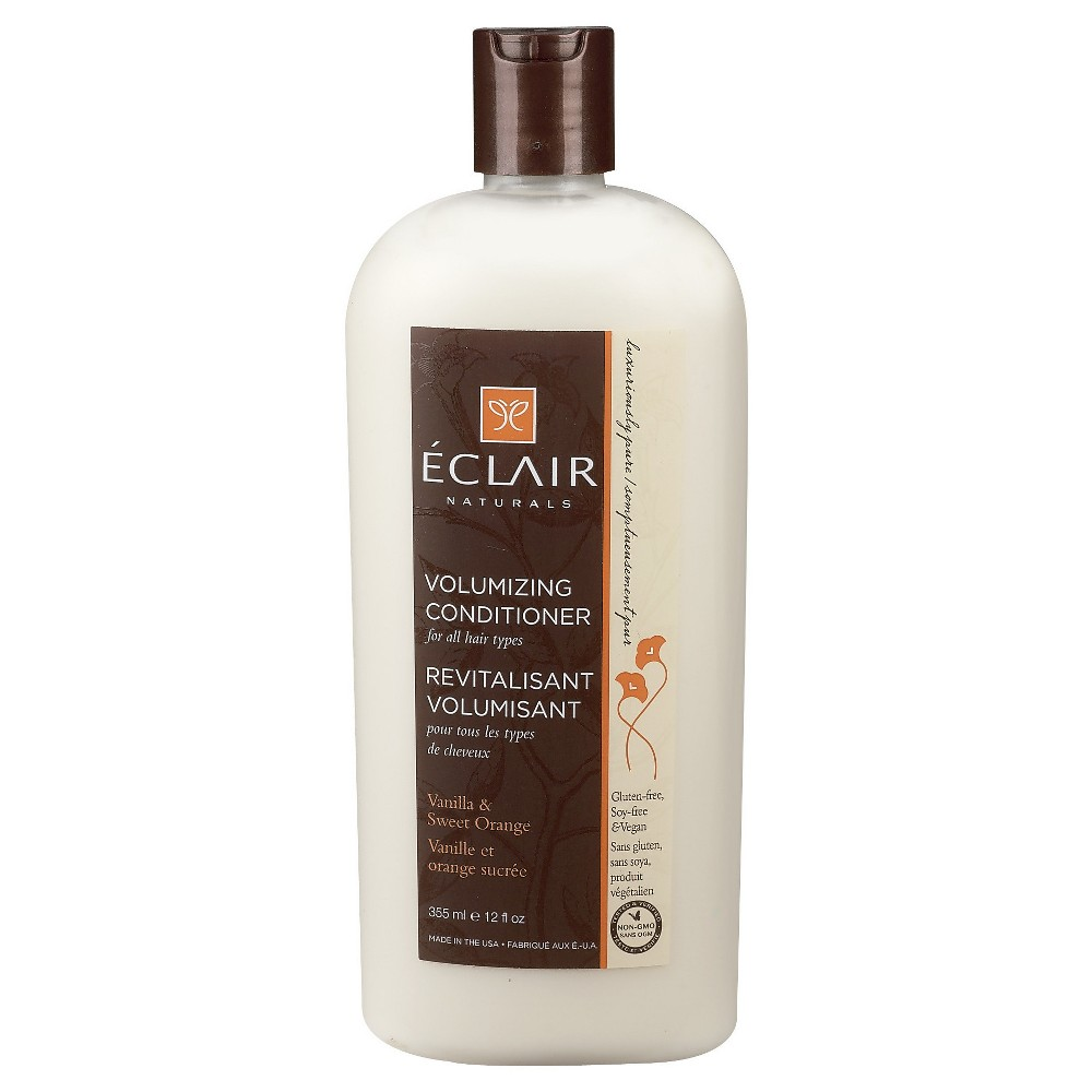 Eclair Naturals Vanilla & Sweet Orange Volumizing Conditioner - 12 fl oz