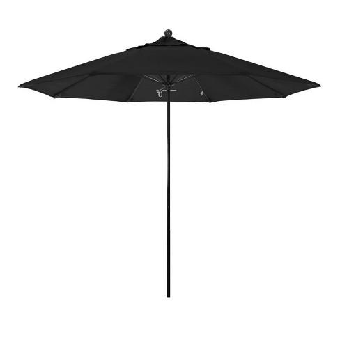 Oceanside 9' Market Umbrella in Black - California Umbrella - image 1 of 1