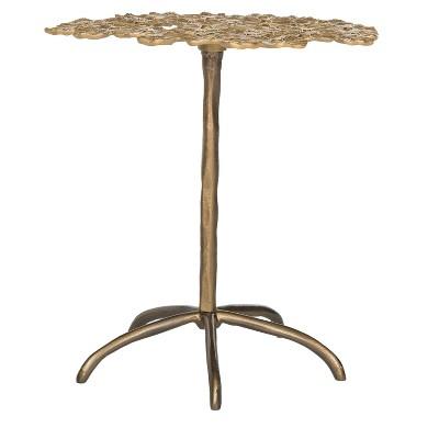 Daisy Side Table   Gold   Safavieh®