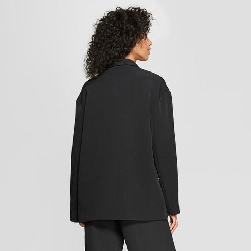 2e20c94ed7c5 Women s Long Sleeve Oversized Slouchy Blazer - Prologue™ Black   Target
