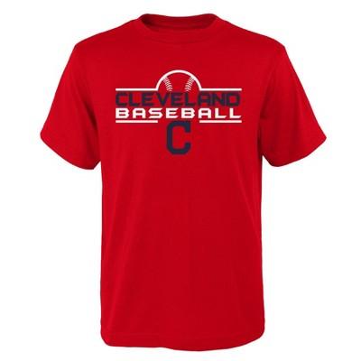 MLB Cleveland Indians Boys' Core T-Shirt