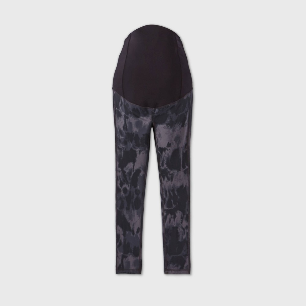 Promos Maternity Tie-Dye Crossover Panel Active Leggings - Isabel Maternity by Ingrid & Isabel™