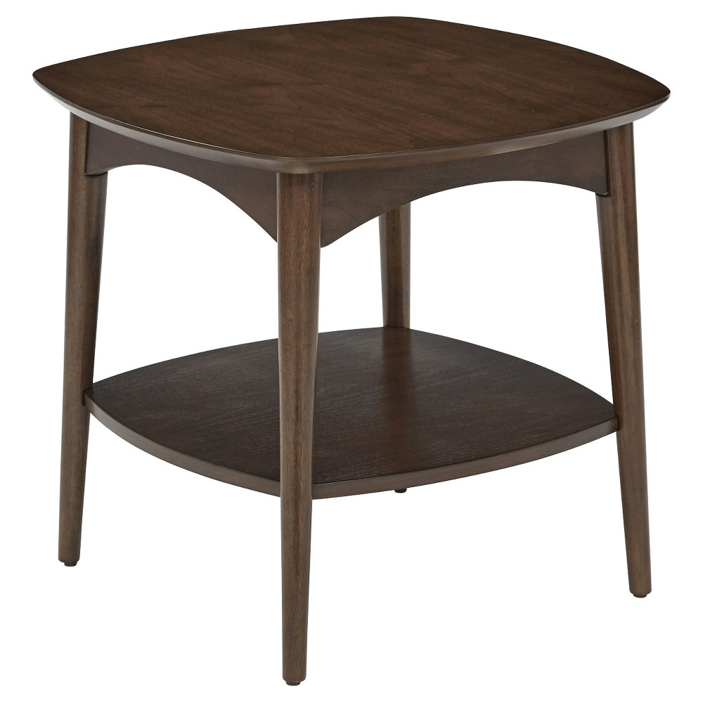 Copenhagen Accent Table - Walnut - Office Star Products