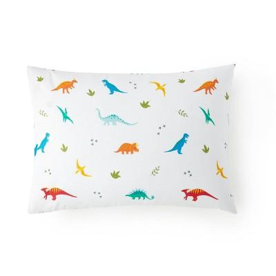 Jurassic Dinosaurs 100% Cotton Hypoallergenic Pillow Case - WildKin