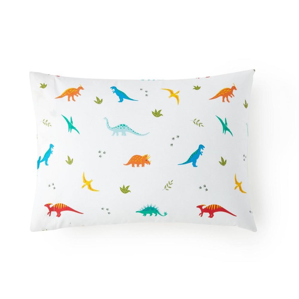 Jurassic Dinosaurs 100 Cotton Hypoallergenic Pillow Case Wildkin