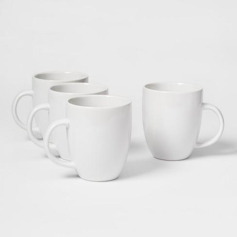 f0e4efb54e1 14oz Porcelain Coupe Mug White - Threshold™