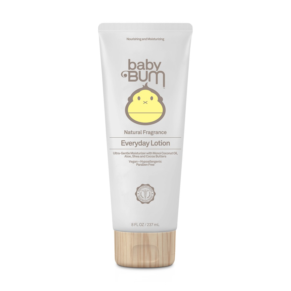 Baby Bum Everyday Lotion - 8oz With Baby Bum Everyday Lotion, stay super soft and smooth with a non-greasy, soothing, moisturizing lotion. Formulated using the earth's most treasured ingredients. Spread The Love.