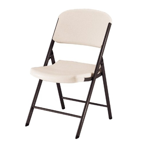 4 Piece Heavy Duty Folding Chair Almond - Lifetime® - image 1 of 1
