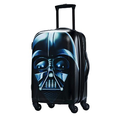 """American Tourister Star Wars Darth Vader 21"""" Hardside Carry On Spinner Suitcase"""