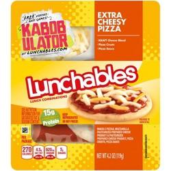 Oscar Mayer Lunchable Extra Cheesy Pizza - 4.2oz