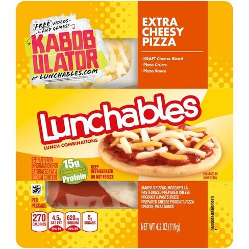 Oscar Mayer Lunchables Extra Cheesy Pizza - 4.2oz - image 1 of 1