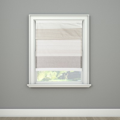 Curtain Panel Adjustable Shade Small Gray   Project 62™