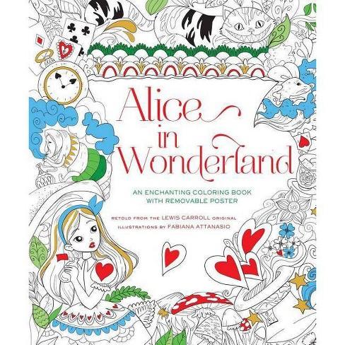 Alice in Wonderland Coloring Book - (Paperback) - image 1 of 1