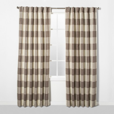 Larkhall Plaid Blackout Curtain Panel - Eclipse - image 1 of 5
