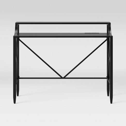 Fairmont Metal Writing Desk with Hutch - Threshold™ - image 1 of 4
