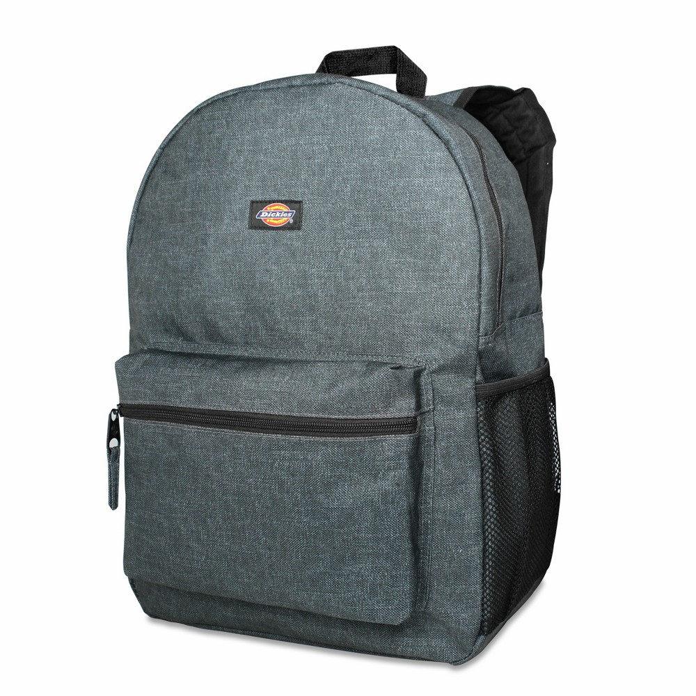 "Image of ""Dickies 17"""" Solid Student Backpack - Charcoal, Size: Large, Grey Grey"""