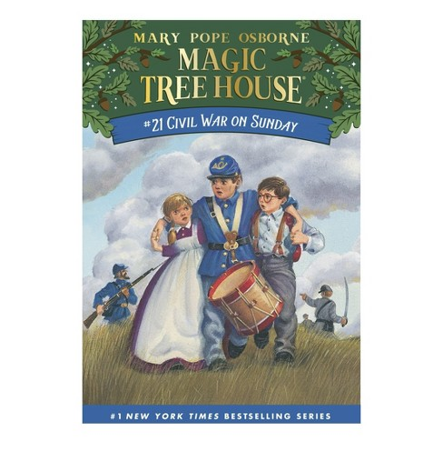Civil War on Sunday ( Magic Tree House) (Paperback) by Mary Pope Osborne - image 1 of 1